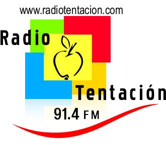 LOGO RADIO TENTACION 91-4 FM