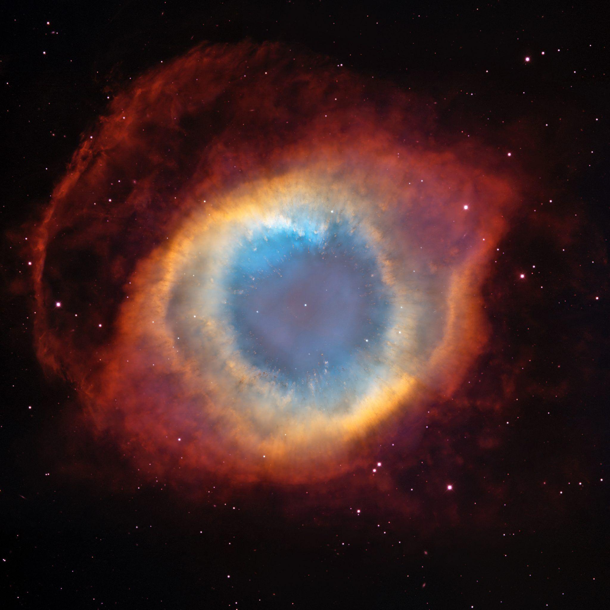 La increíble nebulosa de la Hélice: El Ojo de Dios