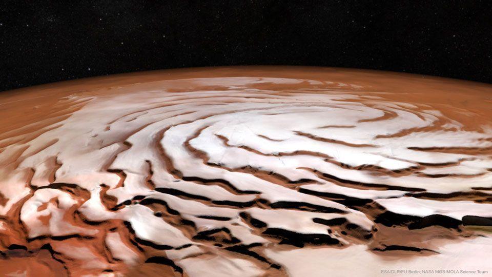 Polo Norte de Marte