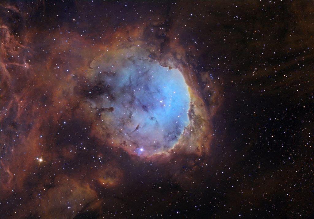 Una nube cósmica en el cúmulo abierto NGC 3324, en la constelación de Carina