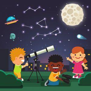 Regalo del día del padre: Observación astronómica de cielo profundo (entrada de niño)
