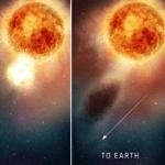 El Hubble resuelve el misterio del oscurecimiento de Betelgeuse