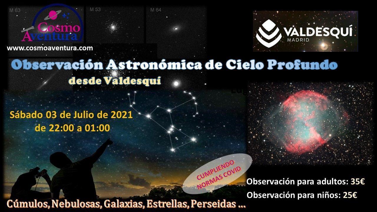 03-07-2021.- Observación Astronómica en el lugar más exclusivo de Madrid: La Estación de Valdesquí
