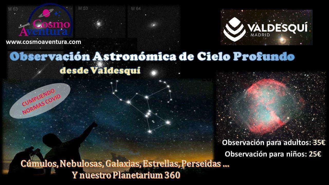 31-07-2021.- Observación Astronómica en el lugar más exclusivo de Madrid: La Estación de Valdesquí