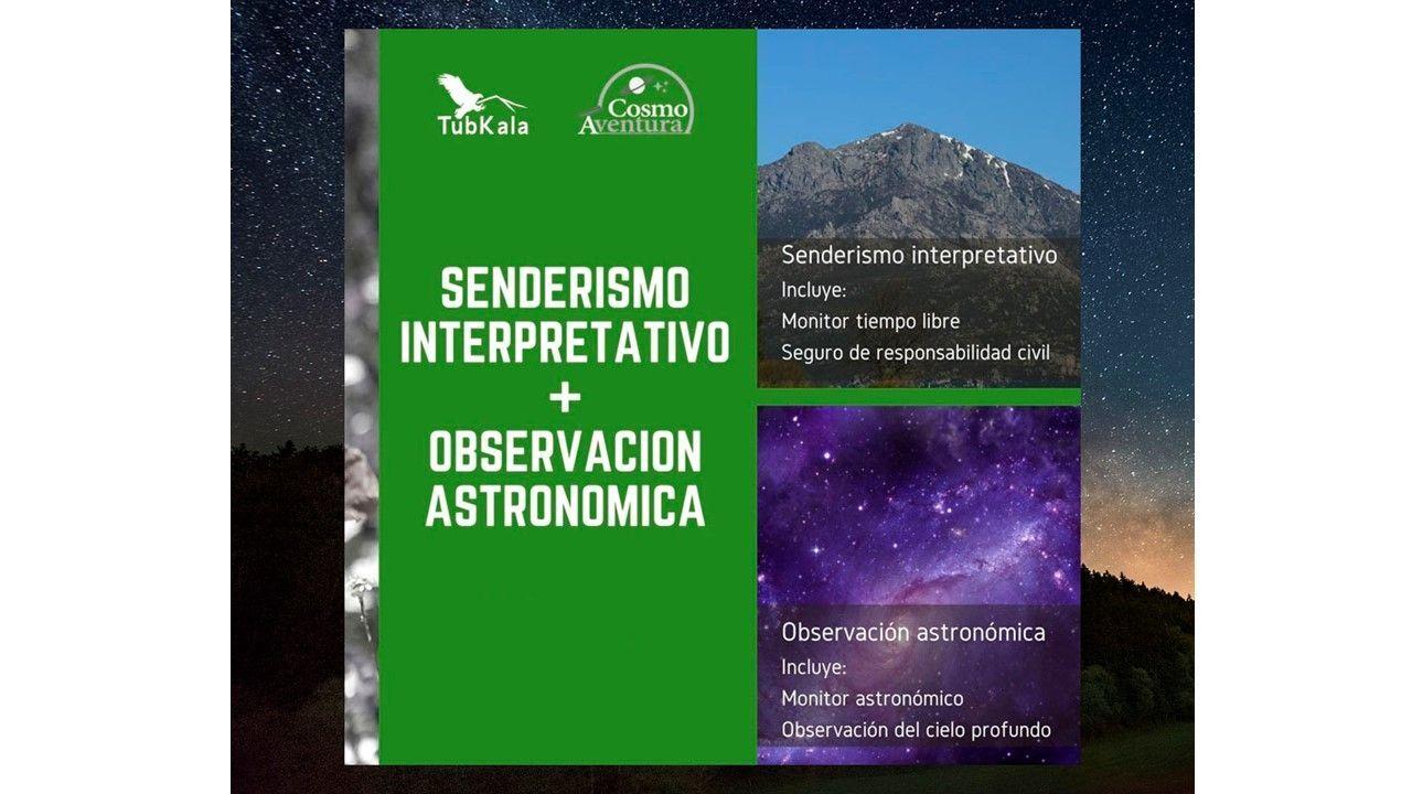 """10-08-2021 Senderismo Interpretativo y Observación Astronómica en """"El Boalo"""""""